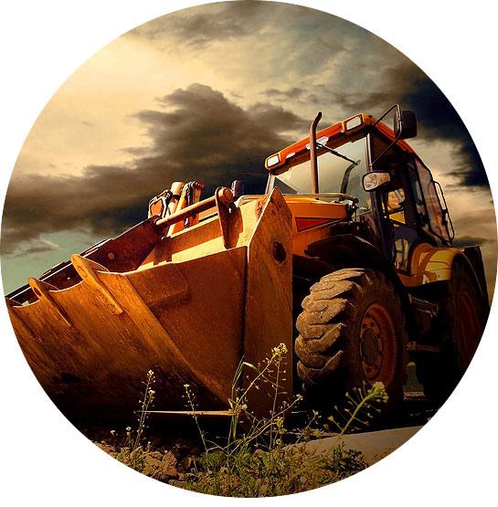 Schaufelbagger werden immer häufiger von Baustellen entwendet